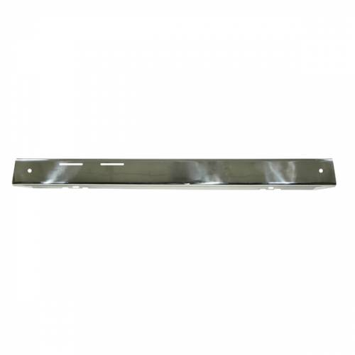 Rugged Ridge - Front Bumper Overlay, Stainless Steel; 76-86 Jeep CJ Models