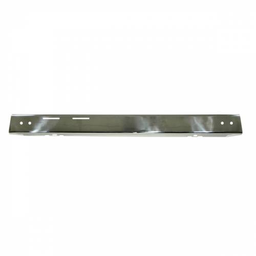 Rugged Ridge - Front Bumper Overlay, Stainless Steel; 87-95 Jeep Wrangler YJ