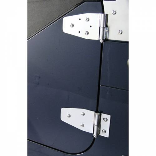 Rugged Ridge - Rugged Ridge Door Hinge Kit, Stainless Steel (1994-95) Jeep Wrangler YJ