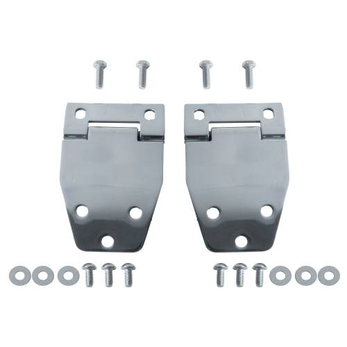 Rugged Ridge - Hardtop Liftgate Hinge Kit, Stainless Steel; 76-86 Jeep CJ Models