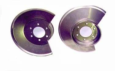 Omix-ADA - Disc Brake Dust Shield, Stainless Steel; 78-86 Jeep CJ Models