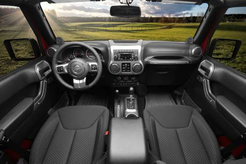 Rugged Ridge - Interior Trim Accent Kit, Charcoal; 11-15 Jeep Unlimited JK, Automatic
