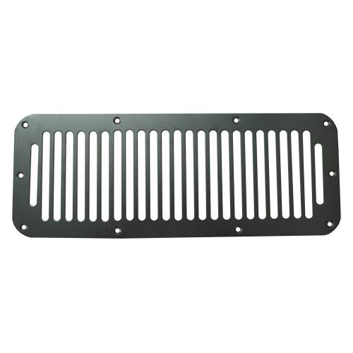 Rugged Ridge - Rugged Ridge Cowl Vent Cover, Black (1976-95) Jeep CJ/Wrangler YJ