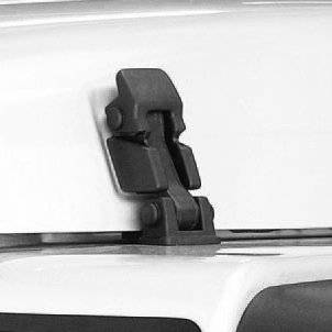 Rugged Ridge - Hood Catch and Bracket Set; 97-06 Jeep Wrangler TJ