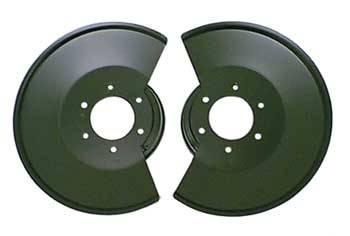 Omix-ADA - Disc Brake Dust Shields; 78-86 Jeep CJ Models