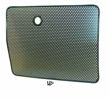 Rugged Ridge - Radiator Bug Shield, Black; 87-95 Jeep Wrangler YJ