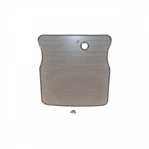 Rugged Ridge - Radiator Bug Shield, Black; 55-86 Jeep CJ Models