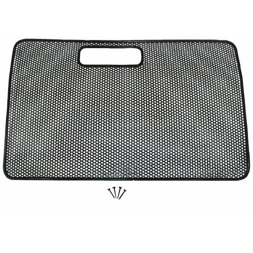 Rugged Ridge - Radiator Bug Shield, Black; 97-06 Jeep Wrangler TJ