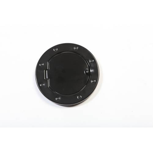 Rugged Ridge - Non-Locking Gas Cap Door, Black; 07-15 Jeep Wrangler JK