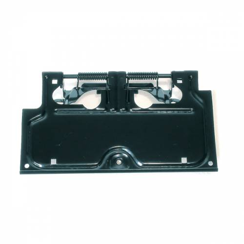 Rugged Ridge - License Plate Bracket, Black; 87-95 Jeep Wrangler YJ