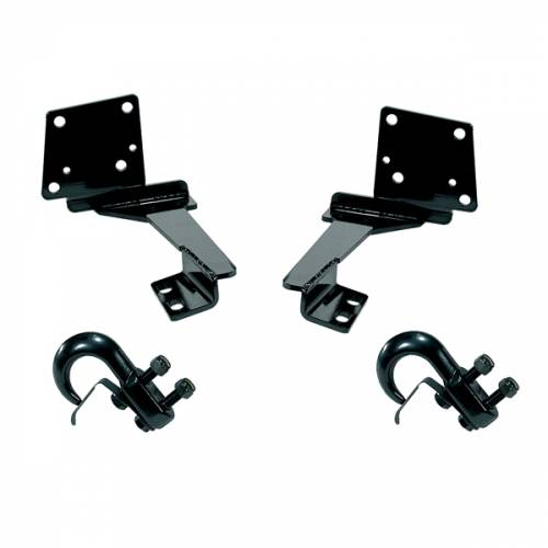 Rugged Ridge - Rugged Ridge Tow Hooks, Front (1993-98) Grand Cherokee ZJ pair