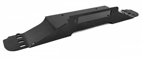 Rugged Ridge - Raised Winch Plate; 87-06 Jeep Wrangler YJ/TJ