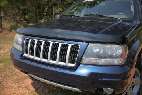 Rugged Ridge - Hood Bug Deflector; 99-04 Jeep Grand Cherokee WJ