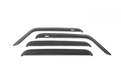 Rugged Ridge - Rugged Ridge Window Rain Deflectors (2007-15) Jeep Wrangler Unlimited JK