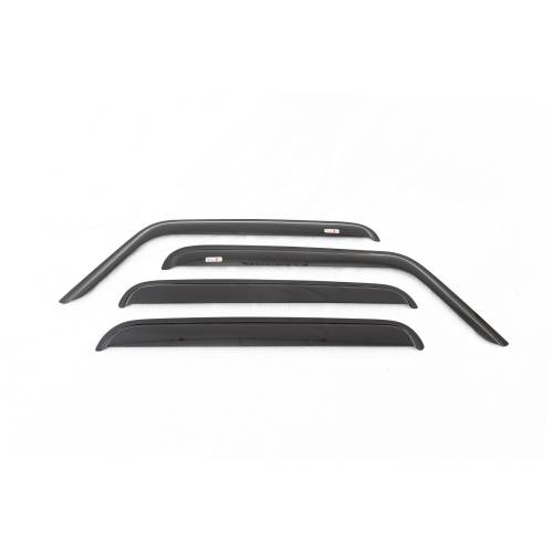 Rugged Ridge - Rugged Ridge Window Rain Deflectors (2008-10) Jeep Liberty KK