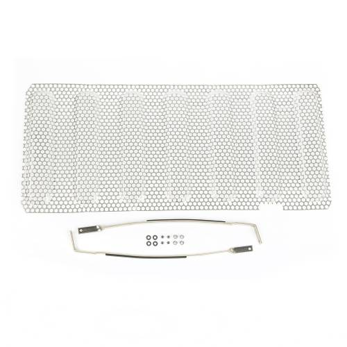 Rugged Ridge - Grille Insert, Satin Stainless Steel; 07-15 Jeep Wrangler JK