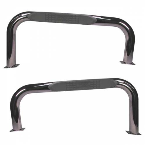 Rugged Ridge - Rugged Ridge Tube Bars, Stainless Steel (1987-06) Jeep Wrangler YJ/TJ