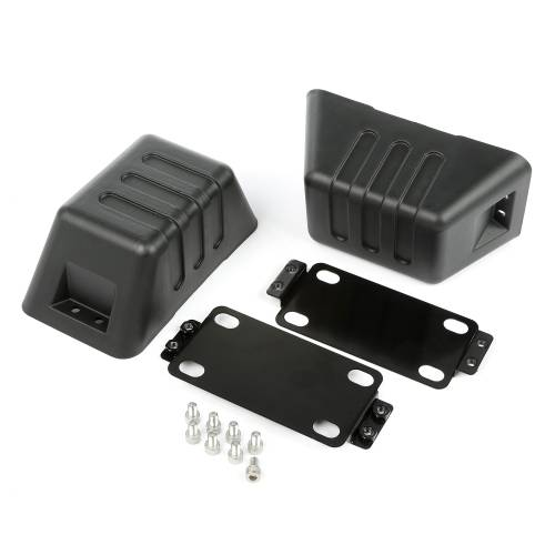 Rugged Ridge - Rugged Ridge XHD Bumper Tow Point Cover (2007-15) Jeep Wrangler JK
