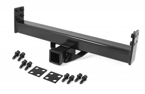 Rugged Ridge - Rugged Ridge 2 Inch Hitch for XHD Rear Bumper (1976-06) Jeep CJ/Wrangler YJ/TJ