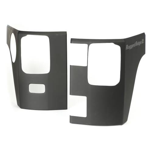 Rugged Ridge - Rear Corner Kit, Body Armor; 07-15 Jeep Wrangler JK, 2 Door
