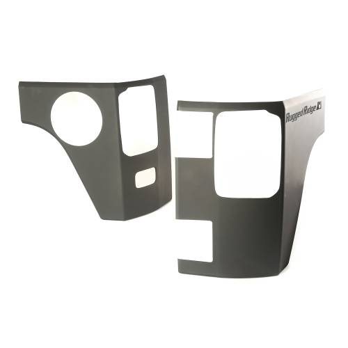 Rugged Ridge - Rear Corner Kit, Body Armor; 07-15 Jeep Wrangler JK, 4 Door