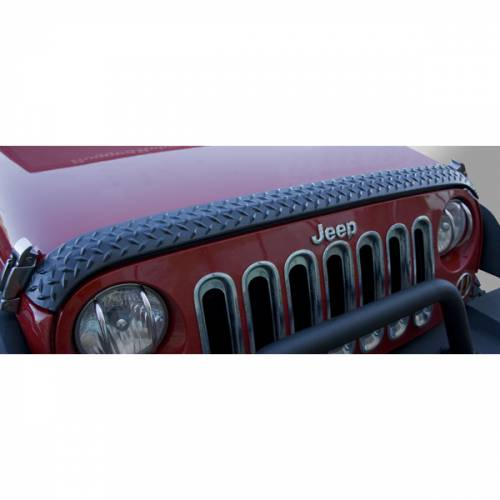 Rugged Ridge - Hood Guard, Body Armor; 07-15 Jeep Wrangler JK