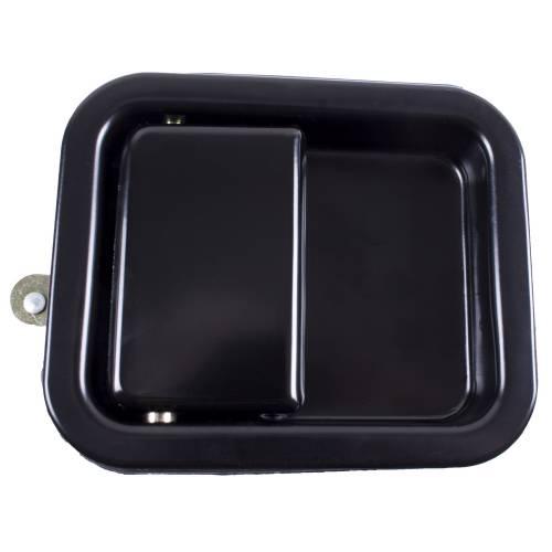 Omix-ADA - Paddle Door Handle, Black; 81-06 Jeep CJ/Wrangler YJ/TJ