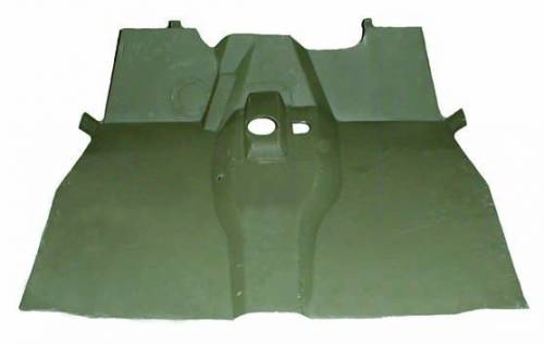 Omix-ADA - Front Floor Panel; 46-53 Willys CJ2A and CJ3A