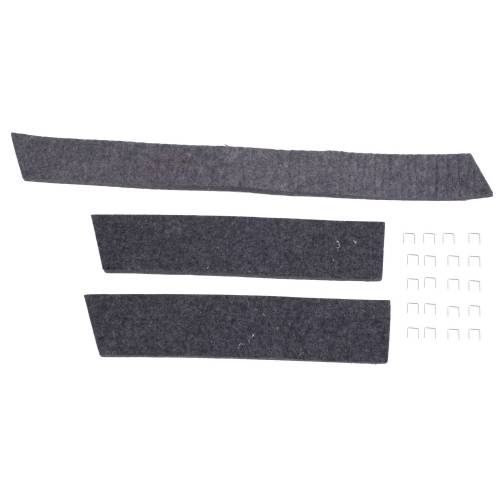 Omix-ADA - Radiator Felt Kit; 41-67 Willys/Jeep Models