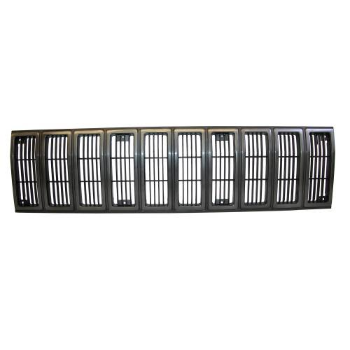 Omix-ADA - Grille Insert, Black and Gray; 84-87 Jeep Cherokee XJ