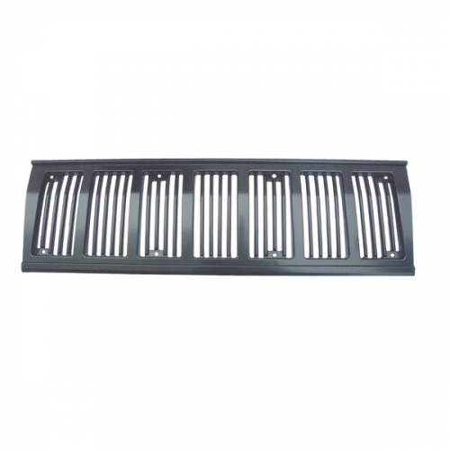 Omix-ADA - Grille Insert, Black; 97-01 Jeep Cherokee Sport and SE Models