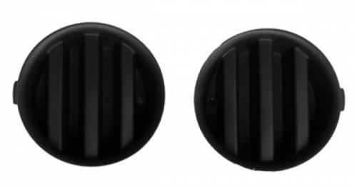 Omix-ADA - Fog Light Inserts; 06-10 Jeep Commanders