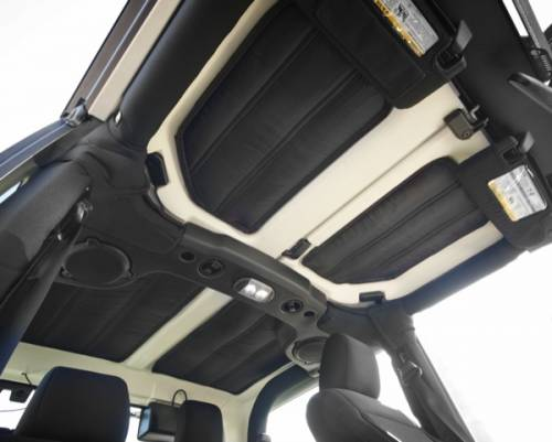 Rugged Ridge - Hardtop Insulation Kit; 11-15 Jeep Wrangler JK, 4-Door