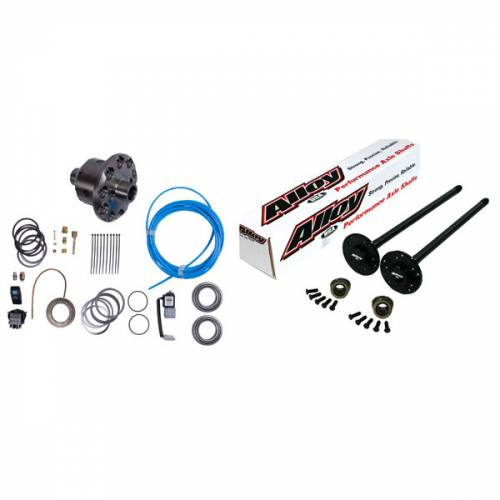 Alloy USA - Alloy USA Axle Shaft Kit and ARB Air Locker (1972-83) Jeep CJ, Grande 30 Front