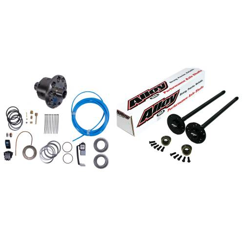 Alloy USA - Alloy USA Axle Shaft Kit and ARB Air Locker (1990-02) Jeep Models, Grande 35 Rear