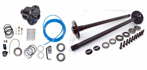Alloy USA - Alloy USA Axle Shaft Kit and ARB Locker (1997-06) Jeep Wrangler, Grande 44 Rear