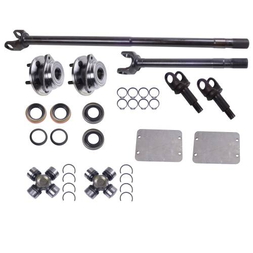 Alloy USA - Alloy USA Axle Shaft Kit (1984-95) Jeep Cherokee XJ Wrangler YJ, Grande 30 Front