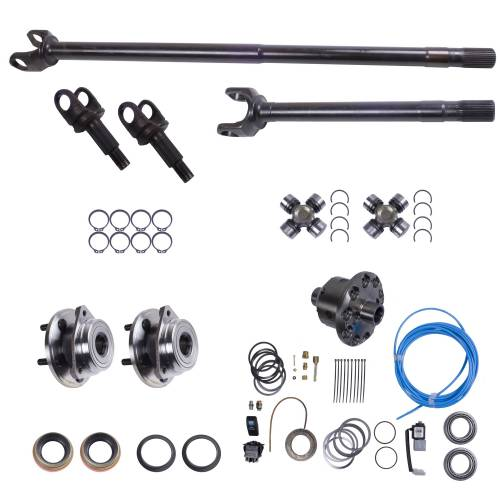 Alloy USA - Alloy USA Axle Shaft Kit with ARB Air Locker (1992-06) Jeep Models, Grande 30 Front
