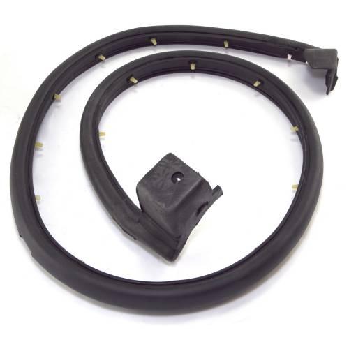 Omix-ADA - Half Door Seal, Right; 97-06 Jeep Wrangler