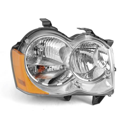 Omix-ADA - RH Headlight Without Fog Lights; 05-10 Jeep Grand Cherokee WK