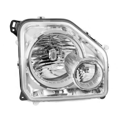 Omix-ADA - LH Headlight with Fog Light; 08-10 Jeep Liberty KKs