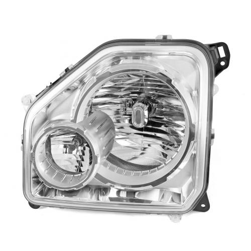 Omix-ADA - RH Headlight with Fog Light; 08-10 Jeep Liberty KKs