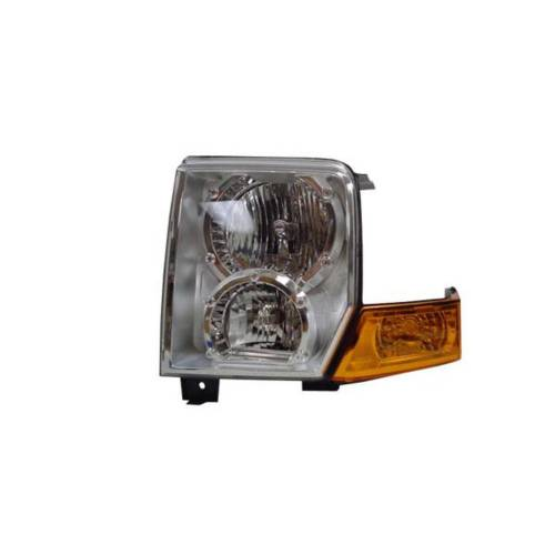 Omix-ADA - Headlight Assembly, Left; 06-10 Jeep Commanders
