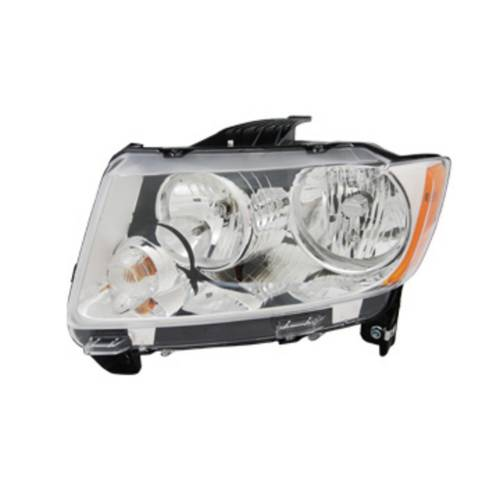 Omix-ADA - Headlight Assembly, Left; 11-14 Jeep Compass