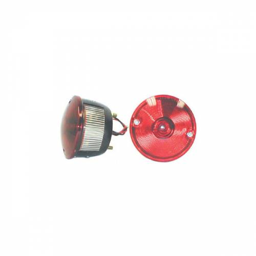 Omix-ADA - Right Round Tail Lamp; 45-75 Willys/CJ Models