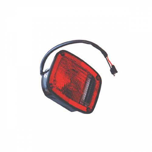Omix-ADA - Left Black Tail Lamp; 76-80 Jeep CJ Models