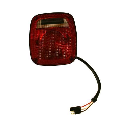 Omix-ADA - Right Black Tail Lamp; 76-80 Jeep CJ Models
