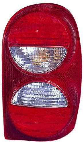 Omix-ADA - Left Tail Light Without Air Dam; 05-07 Jeep Liberty KJ