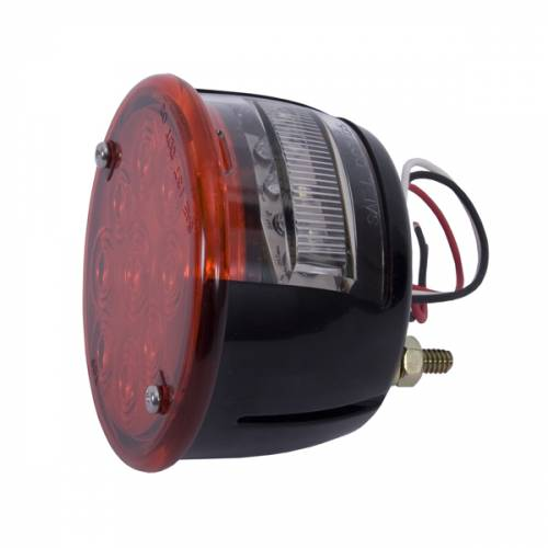 Rugged Ridge - LED Tail Light Assembly, Left Side; 46-75 Willys/Jeep CJ Models