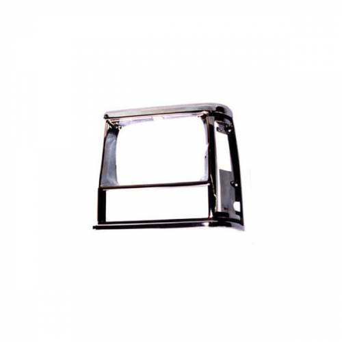 Omix-ADA - LH Chrome, Headlight Bezel; 91-96 Jeep Cherokee XJ